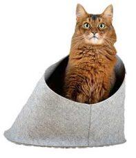 niche feutre chat